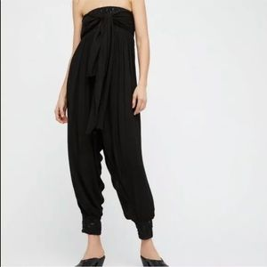 Free People Just Like This Convertible Jumpsuit L